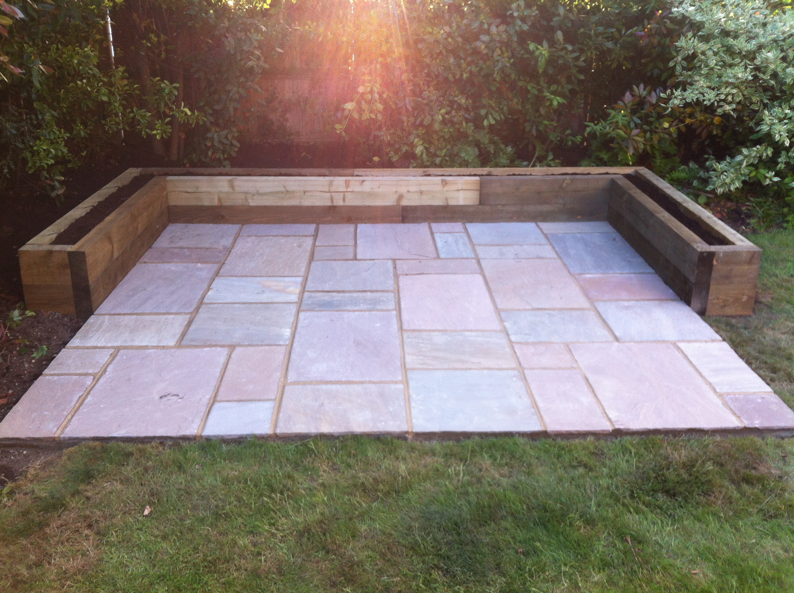 Natural Stone Raised Garden Beds